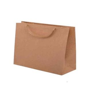 Öko-Papiertüten mit Baumwolkordel 350x90x230